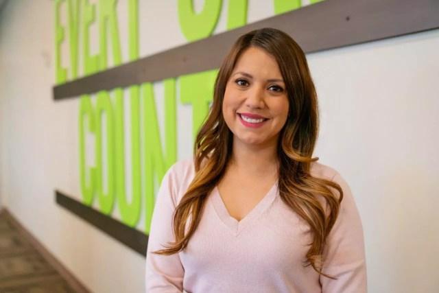 Monica Ruedas, National Sales Center Senior Manager at Extra Space Storage