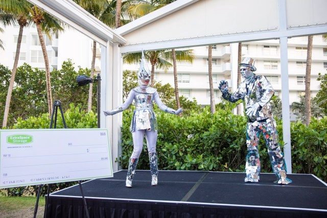Costume contest during the 2019 Partner Conference for Extra Space Storage