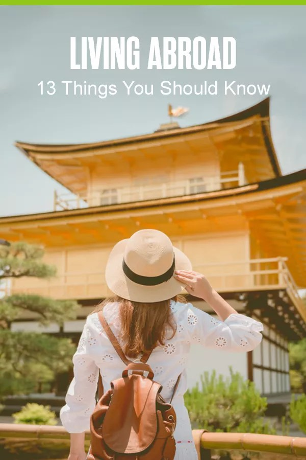 Pinterest Graphic: Living Abroad: 13 Things to Know