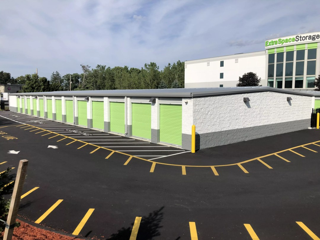 Extra Space Storage facility in Danvers, MA after expansion project in 2019