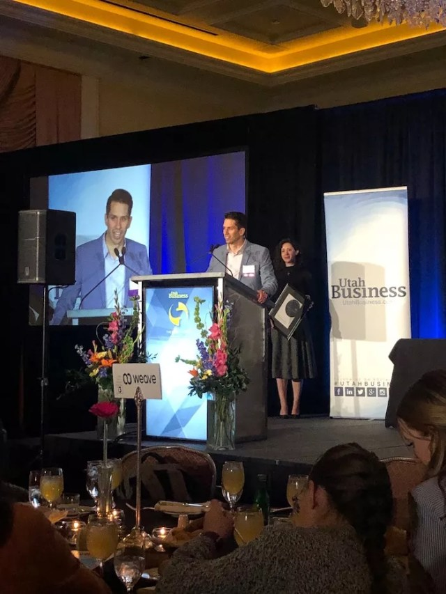 Extra Space Storage Social Media Manager Andrew Todd Accepts 2020 SAMY Award for Best Social Media Campaign