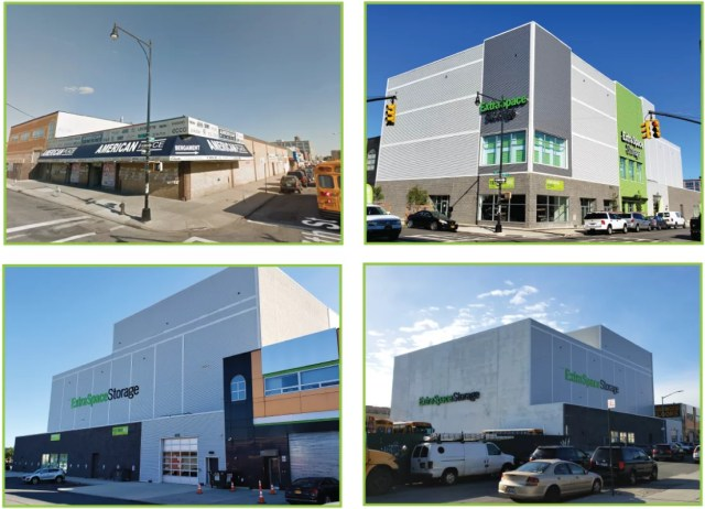 Before and After Photos of Extra Space Storage Facility on 13th Ave in Brooklyn, NY