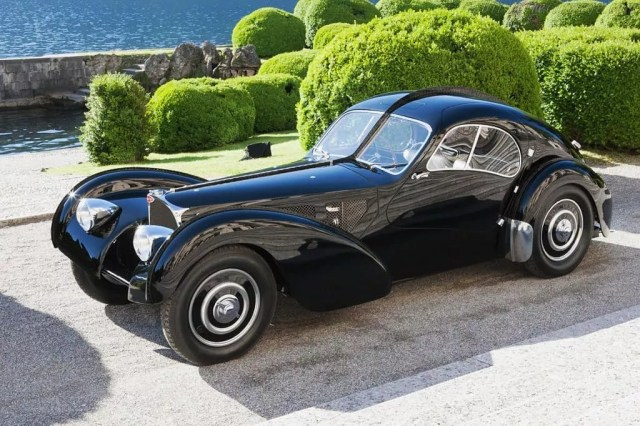 Bugatti Type 57SC Parked at Villa. Photo by Instagram user @perfect_elegance_
