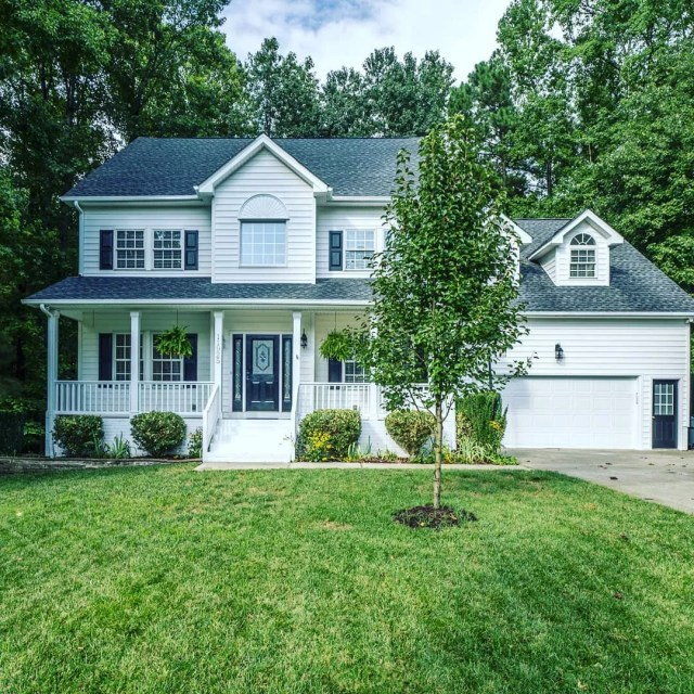 Large Two-Story Single-Family Home in Northwest Raleigh. Photo by Instagram user @bethp_realtor