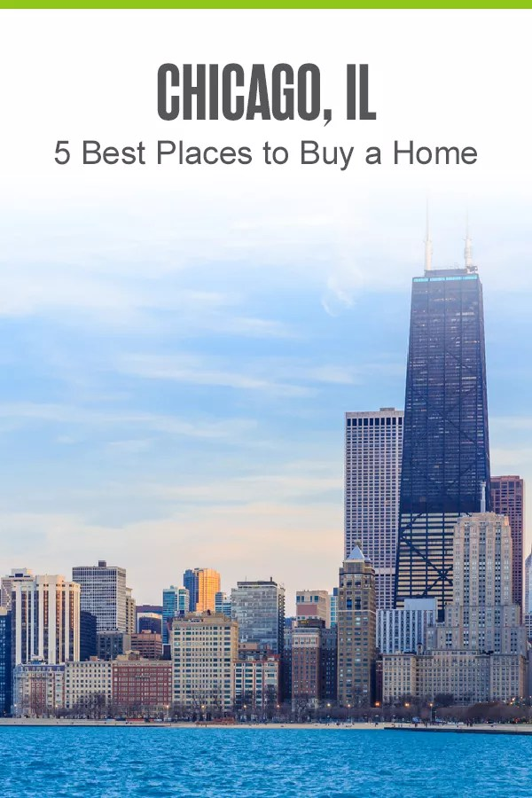 Pinterest Image: Chicago, IL: 5 Best Places to a Buy a Home: Extra Space Storage