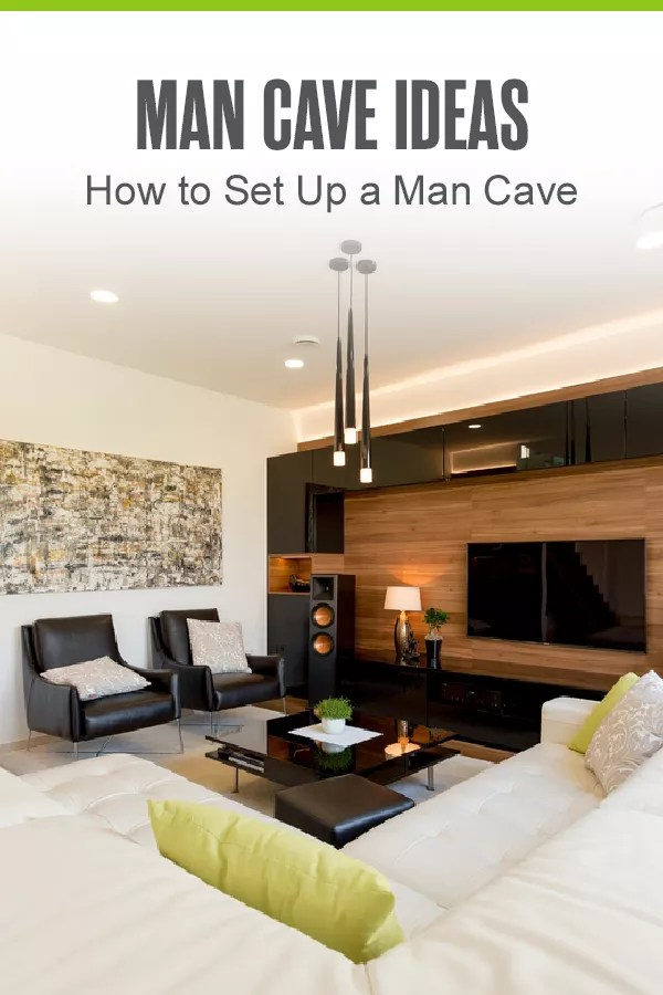 Pinterest: Man Cave Ideas: How to Set Up a Man Cave