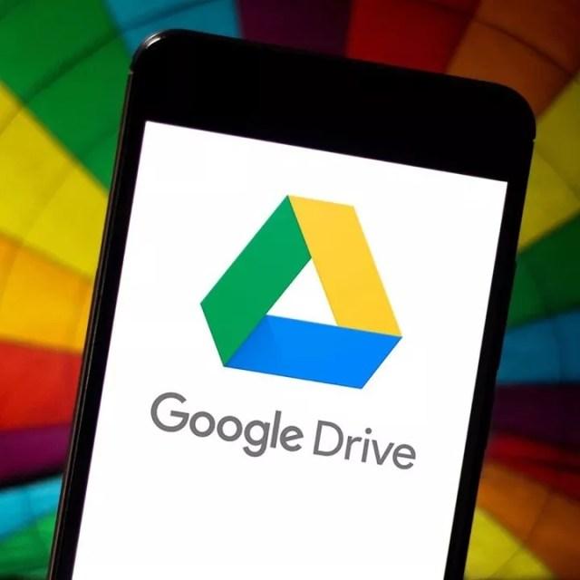 iPhone With Google Drive Logo on Screen. Photo by Instagram user @elmscreativeltd