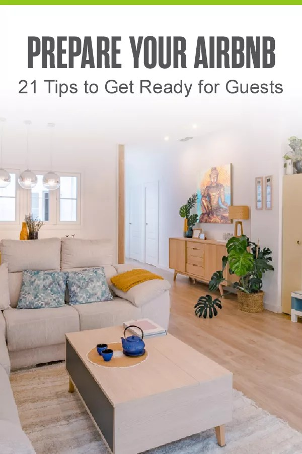 Pinterest Image: Prepare Your Airbnb: 21 Tips to Get Ready for Guests