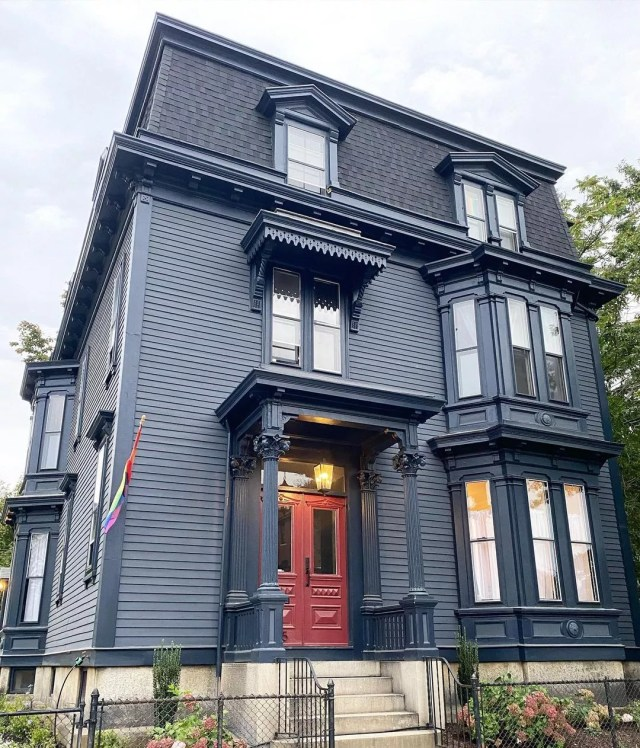 Historic Home that was Renovated into New Apartments in Federal Hill. Photo by Instagram user @mcvickerdg
