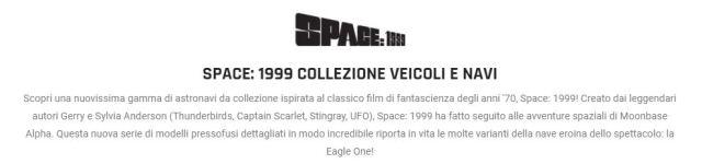 """""""SPAZIO:1999 Collezione veicoli e navi""""- Eaglemoss apre il pre-order!"""