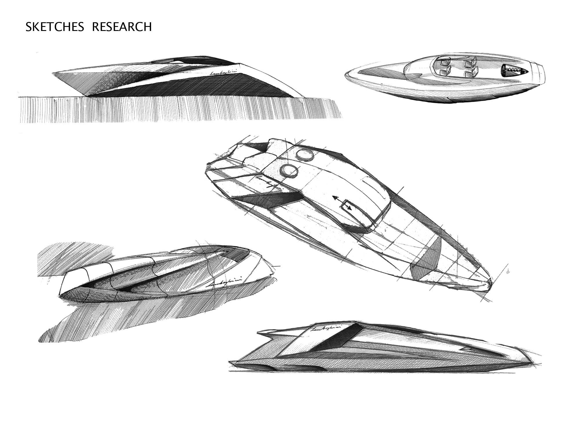Lamborghini Concept Yacht