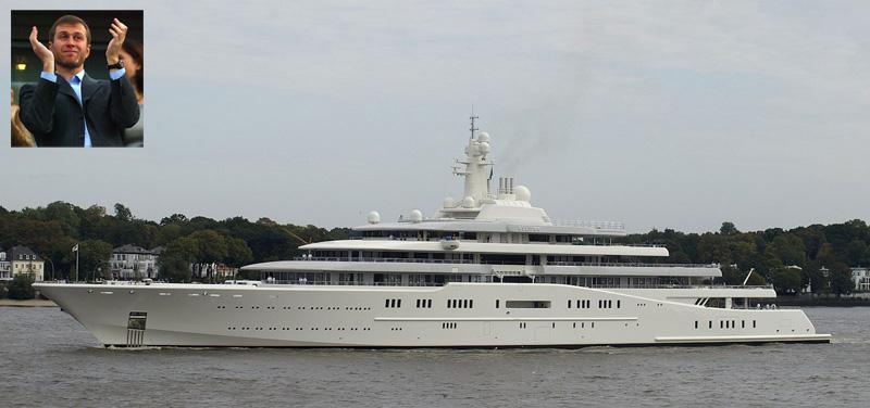 Sheikh Mohammed bin Rashid al-Maktoum Refit Dubai Yacht to Beat Roman Abramovich's Eclipse Yacht - eXtravaganzi