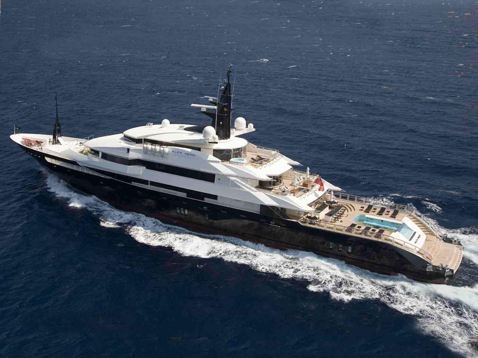 Worlds Most Expensive Superyacht Charter Steven