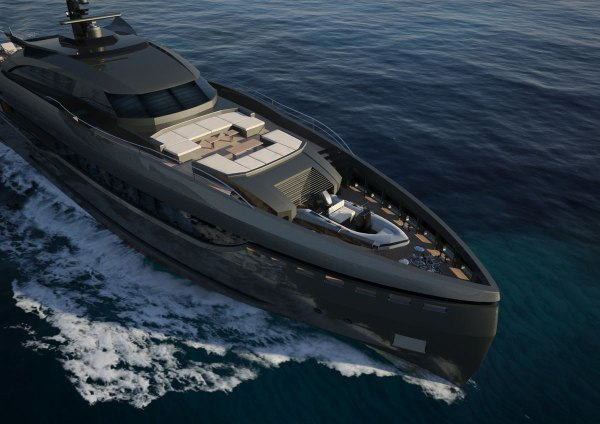 Luxury Columbus Sport Hybrid 130 Superyacht Awaits For a ...