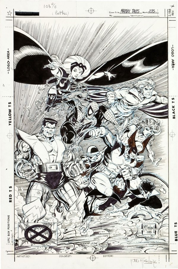Todd Mcfarlane Spider-man #1 Cover Art And Modern Masterworks In July - Extravaganzi