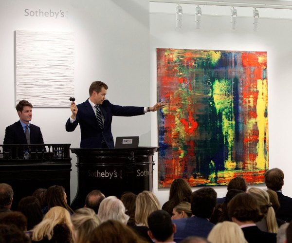 Gerhard Richter Abstraktes Bild 809-4 Sold 34