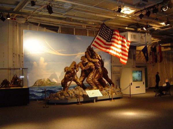 Original Iwo Jima Statue Goes Under The Hammer Extravaganzi