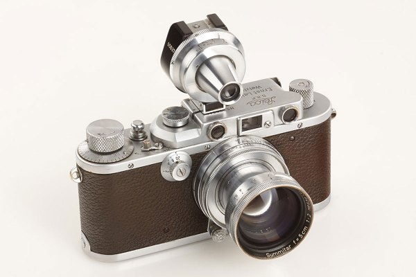 1931 Leica Camera Gold Plated Sold 683 000 Auction