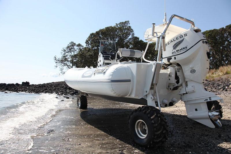 Boat Retractable Wheels