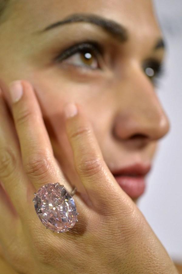 Million Pink Star Diamond Sotheby'