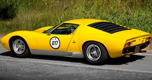 Lamborghini Miura SV Which Was Owned By Rod Stewart On