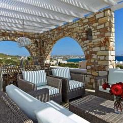 Dining Chairs Nz Chair Cover Express Los Angeles Ca Villa Almyra - Luxury Getaway In Paros Island, Greece Extravaganzi