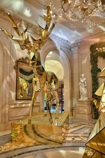 Four Seasons Hotel George V Paris Christmas Decorations