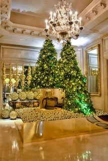 Four Seasons Hotel Paris Christmas Tree