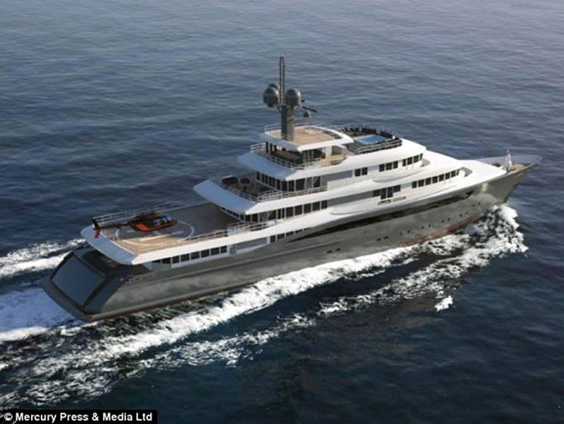 M75 Global Explorer Worlds Most Luxurious Yachts