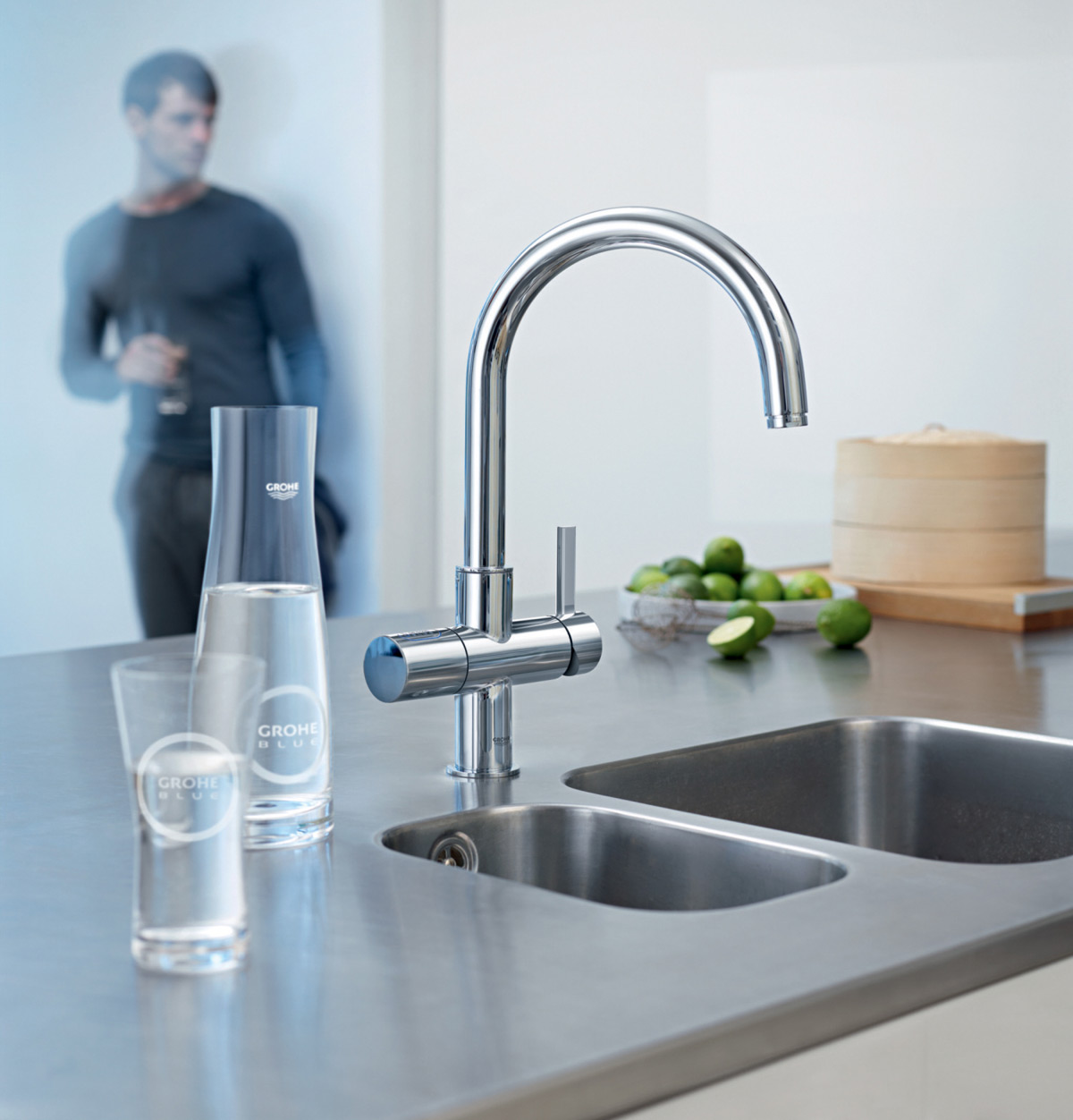 ways to conserve water in the kitchen blanco meridian semi professional faucet chilled and sparkling from tap extravaganzi