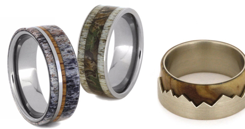 Jewelry By Johan Offers Unique Mens Wedding Bands