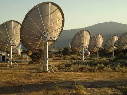 LE ANTENNE DELL'ALLEN TELESCOPE ARRAY, IN CALIFORNIA