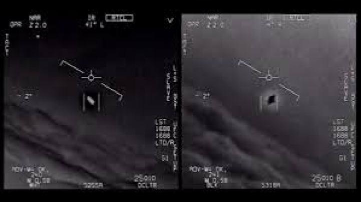 UN UFO RIPRESO DA CACCIA DELLA MARINA MILITARE STATUNITENSE