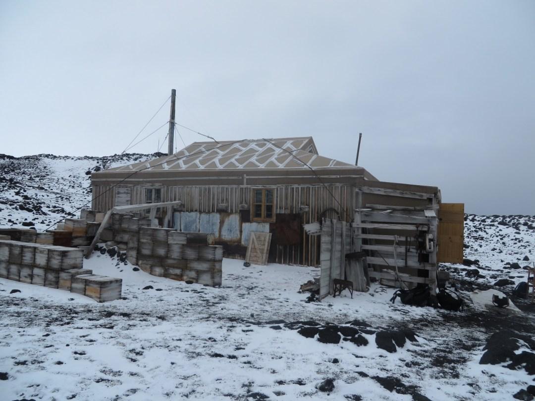 Shackleton's Hut at Cape Royds