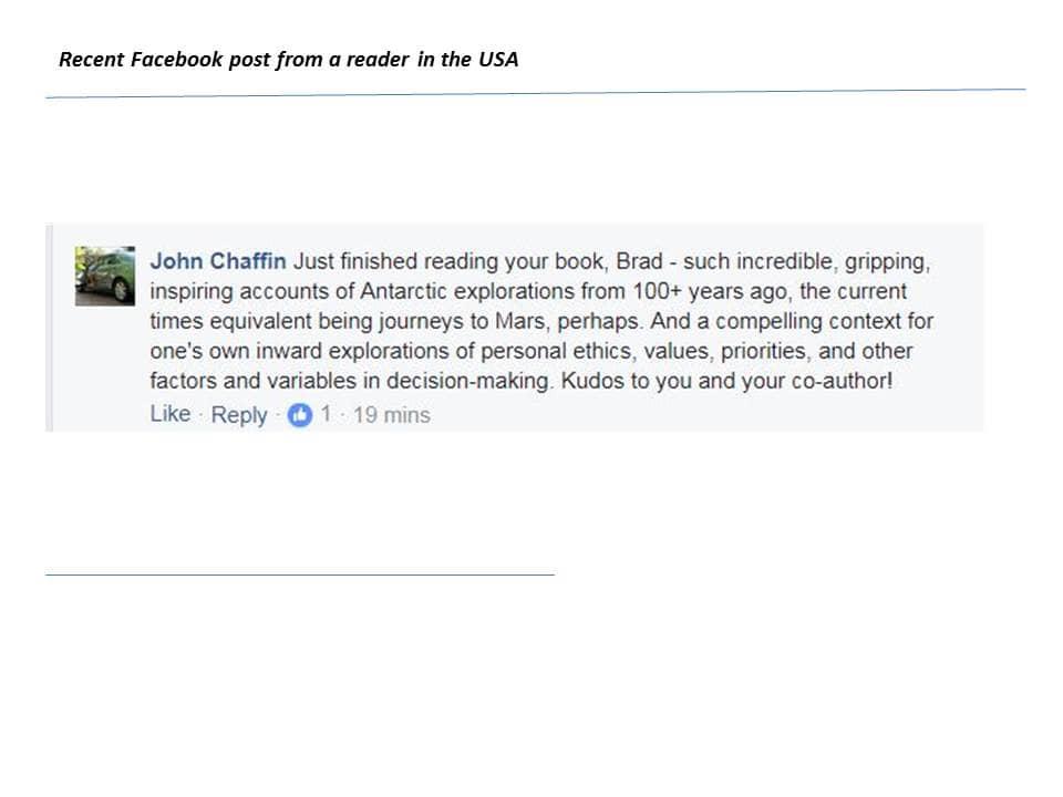 John Chaffin testimonial