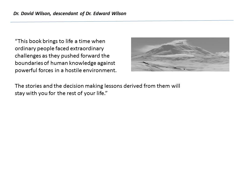David Wilson excerpt from Forreword