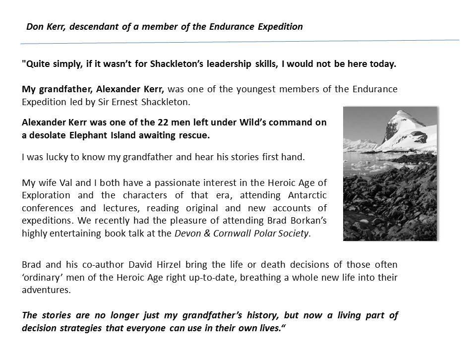 Don Kerr testimonial