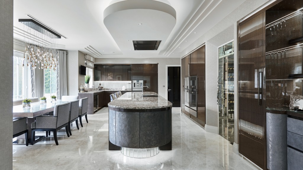 Luxury New Kitchen St George's Hill Surrey Extreme Design