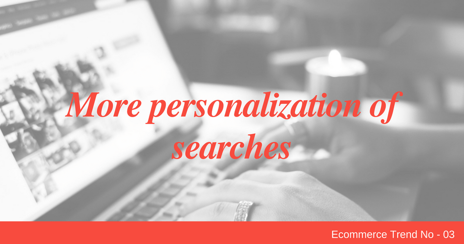 More personalization of searches