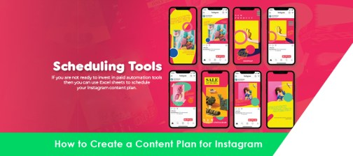 how to create a content plan for instagram