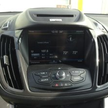 Ford Escape Backup Camera Solution Integrated With Sync System