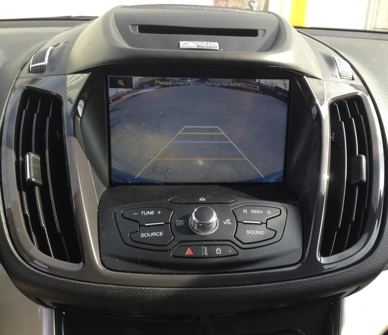 Ford Escape Backup Camera 5?w=676&h=676&crop=1&ssl=1 ford escape backup camera solution integrated with sync system Backup Camera Wiring Schematic at crackthecode.co