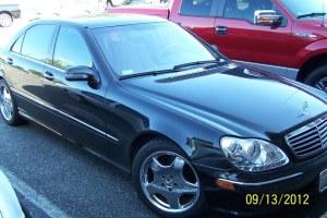 2001 Mercedes S430