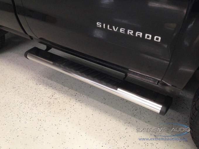 Silverado Step Bars