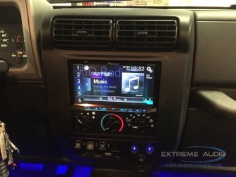 Jeep Wrangler Multimedia System