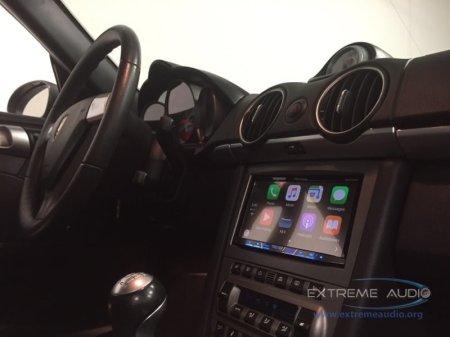 Porsche Cayman CarPlay