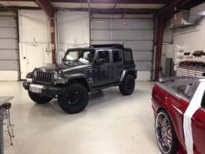 Jeep wrangler camera