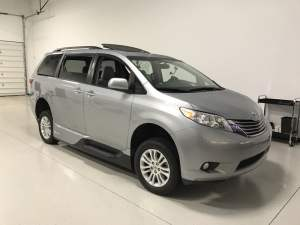 Wheelchair-accessible Toyota Sienna Remote Start For Chester Client