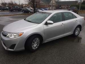 Richmond Client Gets 2012 Toyota Camry Backup Camera