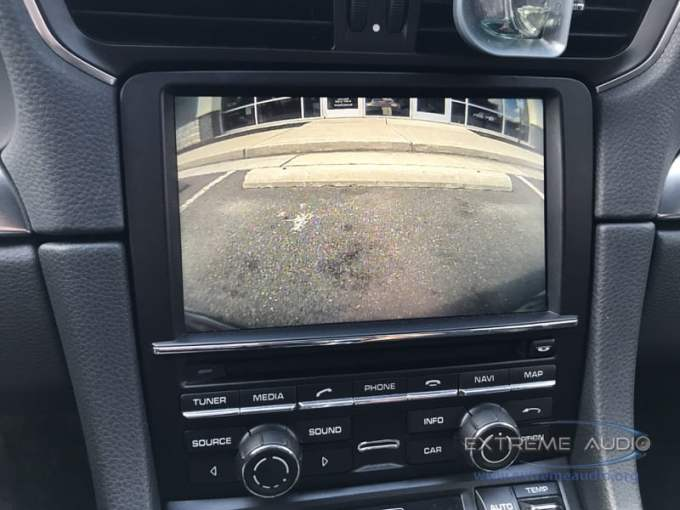 Porsche Carrera 4s Backup Camera